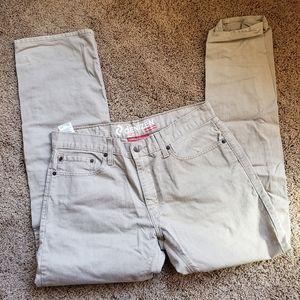 Denizen by Levi's Jeans 218 Slim Tan 34x32